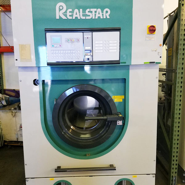Realstar Dry Cleaning Machine refurbished